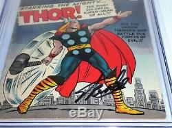 Journey Into Mystery #89 CGC SS Signature Autograph STAN LEE Classic Thor CVR