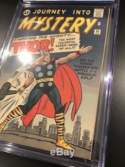 Journey Into Mystery #89 Comic Book Thor CgC 7.5