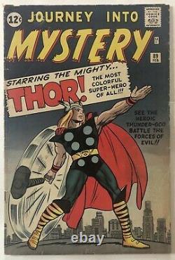 Journey Into Mystery 89 (Origin Of Thor) Marvel 1963