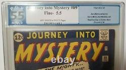 Journey Into Mystery #89 Origin of Thor Retold PGX Grade 5.5 1963 Not CGC