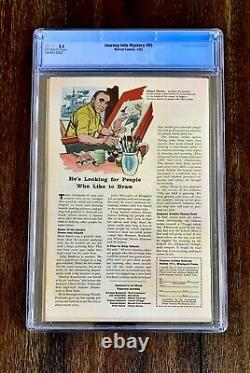 Journey Into Mystery #93 (CGC 5.5) 1st App Radioactive Man (1963)