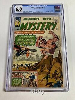 Journey Into Mystery 97 Cgc 6.0 Owithw Pages Marvel Silver Age Thor
