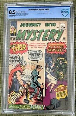 Journey Into Mystery #99 (1963) CBCS 8.5 - 1st & origin of Mr. Hyde (Zabo) CGC