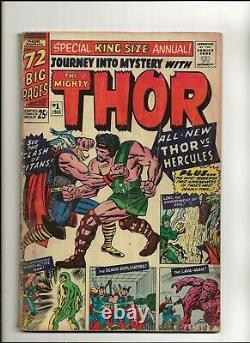 Journey Into Mystery Annual #1 (1965) FR/GD 1st Appearance Hercules Marvel