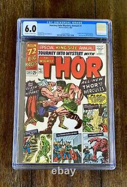 Journey Into Mystery Annual #1 (CGC 6.0) 1st Appearance Hercules