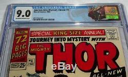 Journey Into Mystery Annual #1 CGC Universal Grade 9.0 1st Hercules Zeus Thor