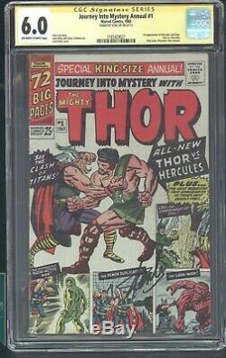 Journey Into Mystery Annual 1 Cgc 6.0 1965 1st App Hercules & Zeus Thor