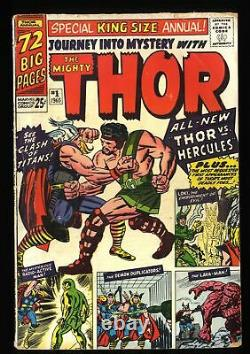 Journey Into Mystery Annual #1 GD/VG 3.0 Thor 1st Hercules