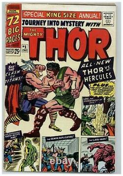 Journey Into Mystery Annual #1 (Hercules vs Thor) 1965 Marvel Comics (j#2251)