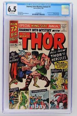 Journey Into Mystery Annual #1 Marvel 1965 CGC 6.5 1st App of Hercules