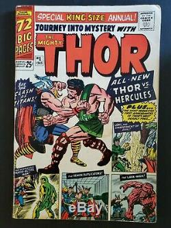 Journey Into Mystery Annual #1 Vg 4.0 1st Appearance Of Hercules