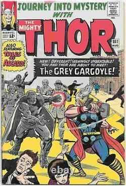 Journey Into Mystery Comic Book #107 Thor Marvel Comics 1964 FINE+/VERY FINE
