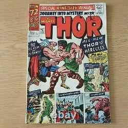 Journey Into Mystery King Size Annual #1 Mighty Thor 1st Appearance Of Hercules