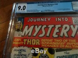 Journey Into Mystery Thor #103 Marvel CGC 9.0 1st appearance of the Enchantress
