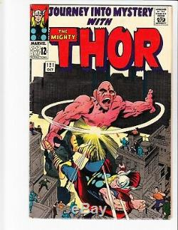 Journey Into Mystery Thor #113 114 115 116 117 118 119 120 121-125 Annual 1