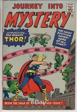 Journey Into Mystery Thor # 83 Fn 6.0 1st Thor Golden Record Reprint 1966