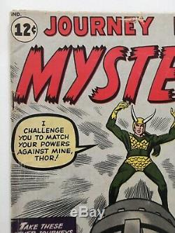 Journey Into Mystery Thor 85 First Appearance Loki