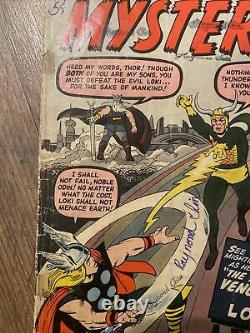 Journey Into Mystery Thor 88 Odin and Loki