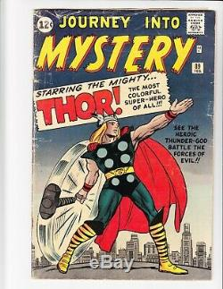 Journey Into Mystery Thor #89 & #112 Classic Cover/hulk Battle
