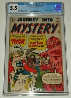 Journey Into Mystery Thor #90 CGC 5.5