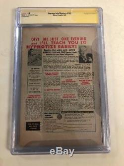 Journey Into Mystery Thor CGC Signature Series 5.0 Signed Stan Lee Hulk Classic