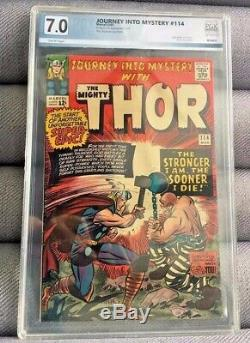 Journey Into Mystery With The Mighty Thor #114 Marvel Comics 3/65 Pgx 7.0