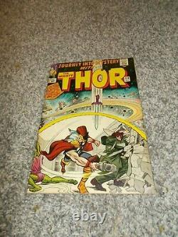 Journey Into Mystery With Thor # 111 Vg Signed By Jack Kirby 1964 Silver Age