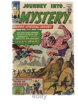 Journey Into Mystery -thor 97 Vg- Jack Kirby Silver Age Marvel Comics C