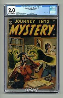 Journey into Mystery #1 CGC 2.0 1952 2000992001