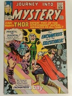 Journey into Mystery #103 April 1964 Thor 1st App Enchantress & Executioner KEY