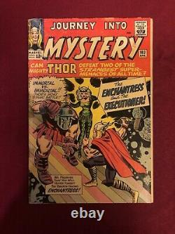 Journey into Mystery #103 in 3.5 VG- Enchantress and the Executioner! B@@yah