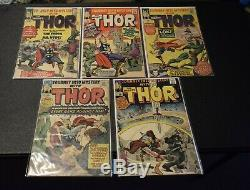 Journey into Mystery 105 106 108 110 111 Marvel Silver Age Early Thor