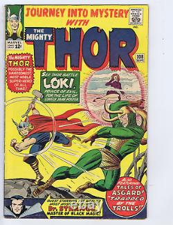 Journey into Mystery #108 Marvel 1964 Dr. Strange X-over, At the Mercy of Loki