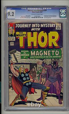 Journey into Mystery #109 CGC 9.2 NM- Thor Unrestored Marvel Magneto Quicksilver