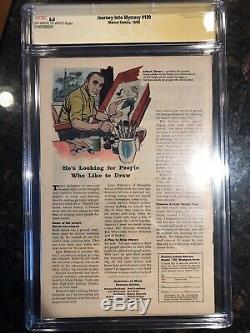Journey into Mystery #109 CGC SSx2 Hemsworth, Lee