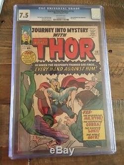 Journey into Mystery #110 (1964) Every Hand Against Him! CGC 7.5