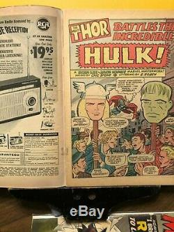 Journey into Mystery #112 Thor vs. Hulk classic. Complete