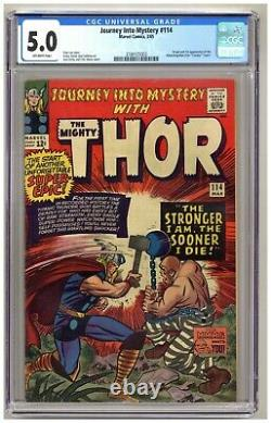 Journey into Mystery 114 (CGC 5.0) Origin/1st appearance of Absorbing Man B228