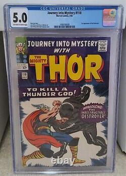Journey into Mystery #118 (1965) CGC 5.0 1st Appearance of Destroyer Marvel