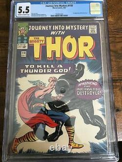 Journey into Mystery #118 CGC 5.5 and Avengers #38 CGC 7.0