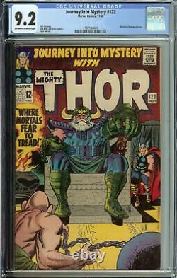Journey into Mystery # 122 CGC 9.2 owithwp