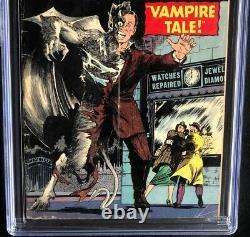 Journey into Mystery #16 CGC 3.5 OW Rare Horror! Vampire Atlas Comics 1954