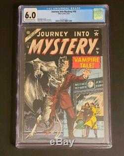 Journey into Mystery 16, CGC 6.0 OWithW, Rare Precode Horror, New Case