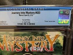 Journey into Mystery (2011 series) #633 CGC 9.6 variant Venom Loki cover