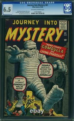 Journey into Mystery #61 CGC 6.5 - 1960 - pre-Hero Kirby Atlas. #1197148003