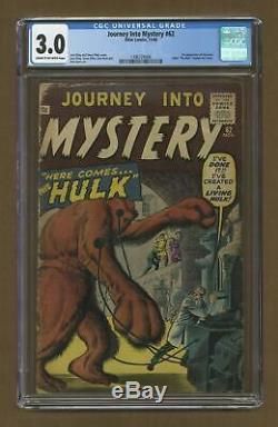 Journey into Mystery #62 1960 CGC 3.0 1396724006