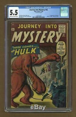 Journey into Mystery #62 1960 CGC 5.5 1396702003
