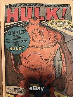 Journey into Mystery #62 66 (Nov 1960, Marvel) Hulk prototype Ditko Kirby Lee