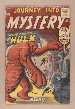 Journey into Mystery #62 PR 0.5 1960