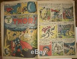 Journey into Mystery #83 1st Thor 1962 coverless